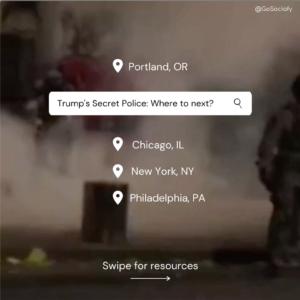 Trump's Secret Police
